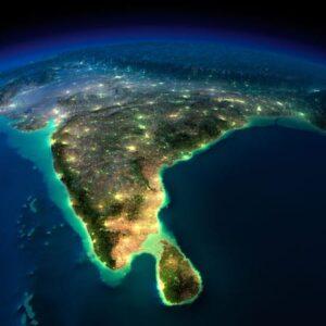 India-at-night