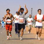 8945261 - delhi - october 28: men running on track at marathon on october 28th, 2007 in delhi, india. Image credit: Paul Prescott / 123rf