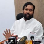 The Union Minister for Consumer Affairs, Food and Public Distribution, Shri Ram Vilas Paswan addressing a press conference on the issues related to Department of Food & Public Distribution and Department of Consumer Affairs, in New Delhi on October 04, 2017. Image credit: Ministry of Consumer Affairs, Food & Public Distribution (GODL-India) / GODL-India (https://data.gov.in/sites/default/files/Gazette_Notification_OGDL.pdf)
